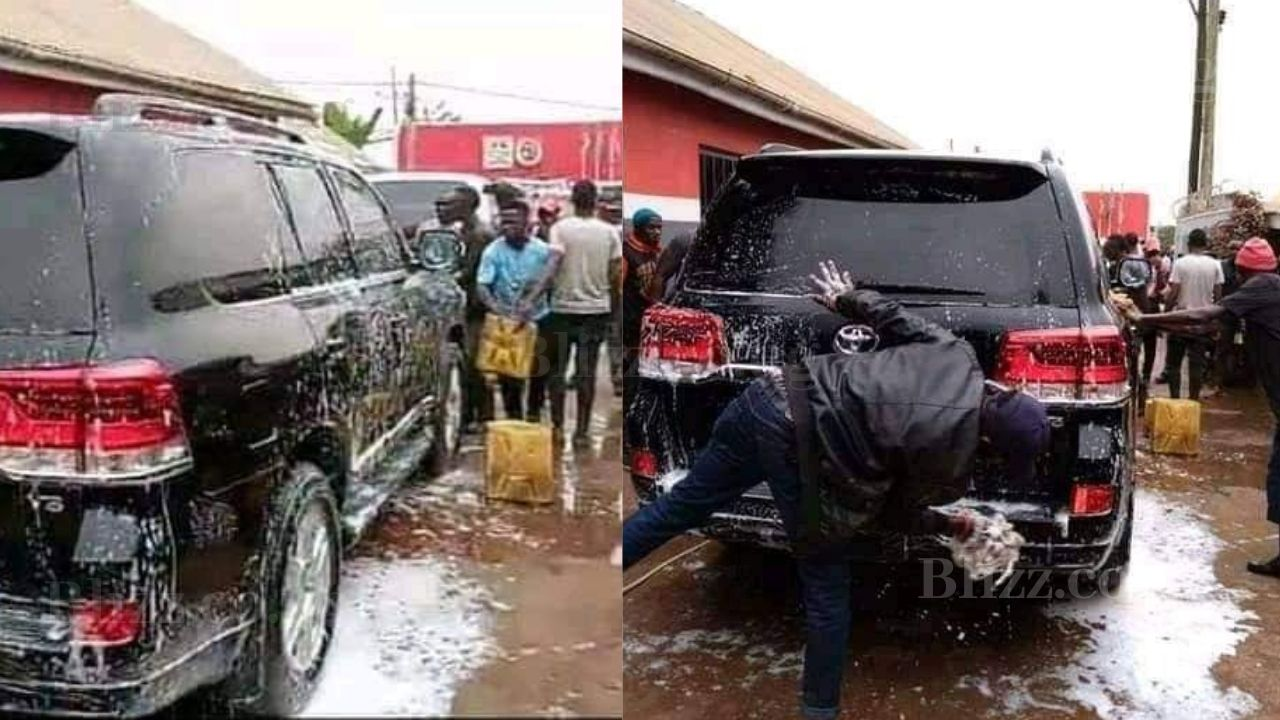 Bobi Wine's Bullet Proof New Car Accorded with a Ghetto ...